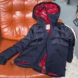 Moncler Borrome Giubotto Size 12 Puff Down Jacket